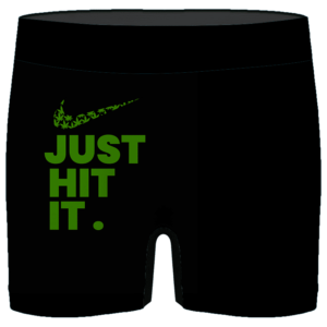 Just Hit It Nike Inspired 420 Marijuana Men's Boxer Briefs