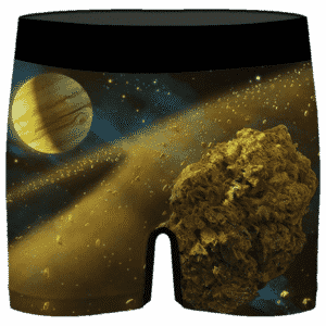 Kush Galaxy Asteroid Weed Nug 420 Marijuana Men's Underwear