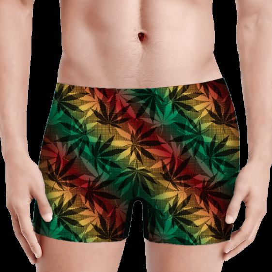Marijuana 420 Weed Reggae Colors Amazing Men's Boxer Brief