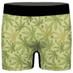 Marijuana Breezy Seamless Pattern Hemp Awesome Men's Brief