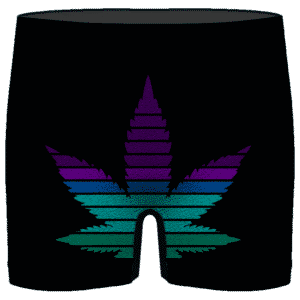 Parental Advisory Dope Content 420 Marijuana Men's Underwear