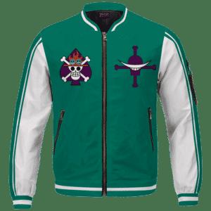 Portgas D. Fire Fist Ace Mera Mera Fruit Varsity Bomber Jacket