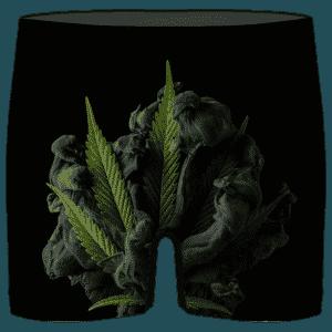 Realistic Cannabis Artwork 420 Marijuana Hemp Men's Underwear