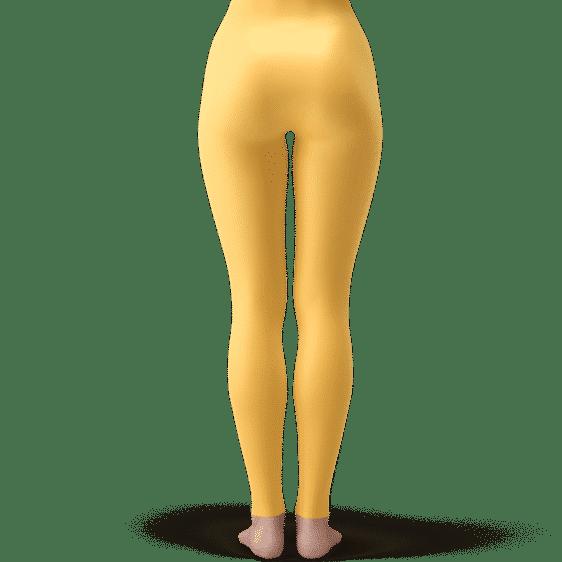 Saiyan Royal Family Symbol Sunny Yellow Cool Leggings