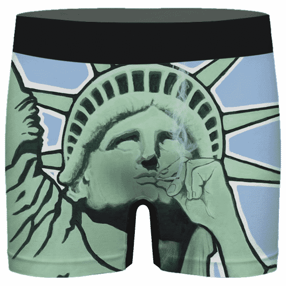 Statue Of Liberty Smoking That Good Good Awesome Men's Underwear