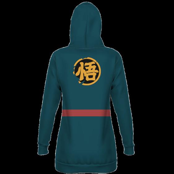 Super Dragon Ball Heroes Goku God Officer Cosplay Hoodie Dress
