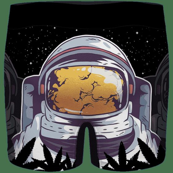 Supreme Astronaut High In Space & Mind 420 Weed Men's Underwear