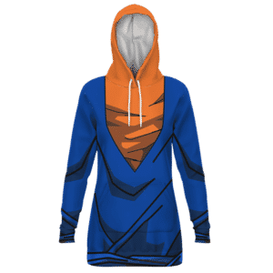 Vegito Cosplay Outfit Gear 3D Pullover Hoodie Dress