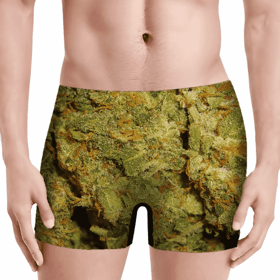 Weed Top Shelf Quality Nugs Marijuana 420 Men's Underwear