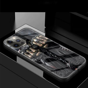 Game Over Skeleton Holding Steel Chains Dope iPhone 12 Case