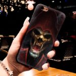 Scary Monster Skull In Red Hood Dope iPhone 12 Case