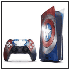 Marvel Superheroes PS5 Disk Edition Skins
