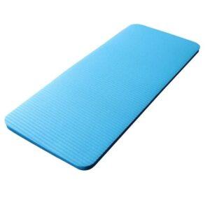 15MM Dense Turquoise Blue Yoga Pad for Knee & Elbow Protection EVA - Yoga Mats - Chakra Galaxy