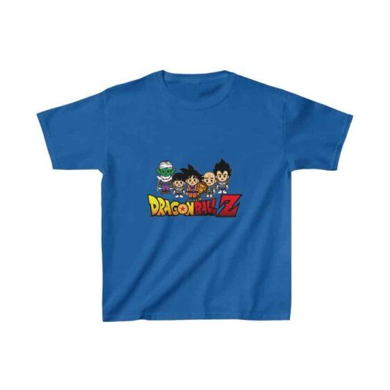 DBZ Cute Piccolo Gohan Goku Vegeta Krilin Kids T-shirt