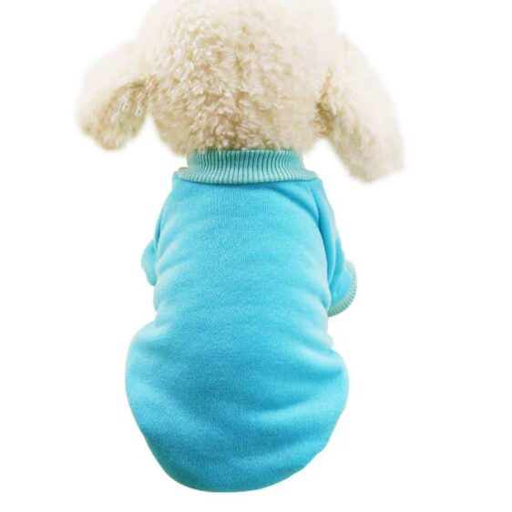 4 Colors Awesome Soft Winter Coat Sweatshirt For Small Dogs - Woof Apparel