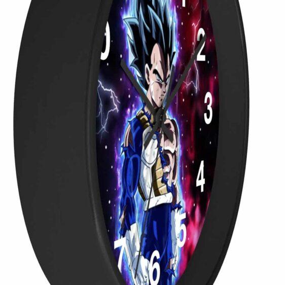 Dragon Ball Vegeta Ultra Instinct Form Fan Art Dope Wall Clock