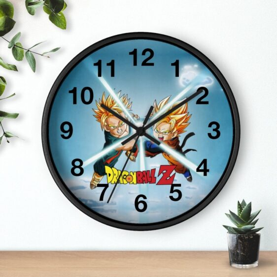 Dragon Ball Z Goten & Trunks Duo Attack Cool Wall Clock
