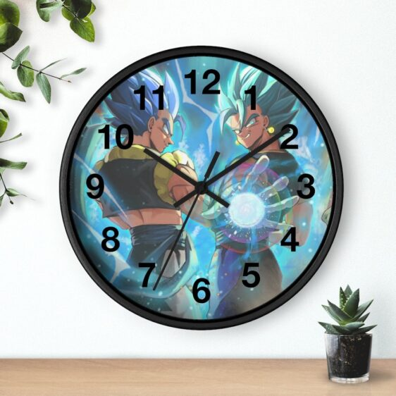Dragon Ball Super Gogeta & Vegito Blue Badass Wall Clock