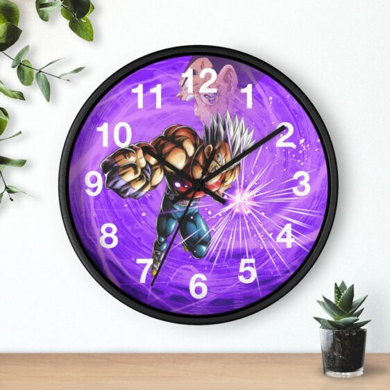 Dragon Ball Legends Baby Vegeta Powerful Attack Dope Wall Clock