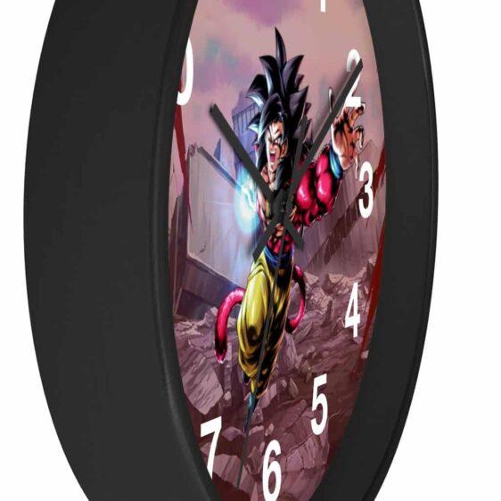 Dragon Ball GT SSJ4 Goku Attack Pose Awesome Wall Clock