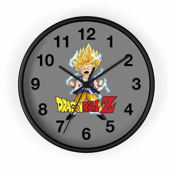 Dragon Ball Z Super Saiyan Goten Scream Awesome Wall Clock