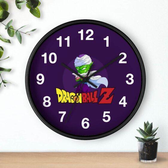 Dragon Ball Z Chibi Piccolo Illustration Cute Wall Clock