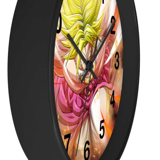 Dragon Ball Super Broly Badass Stance Cool Wall Clock
