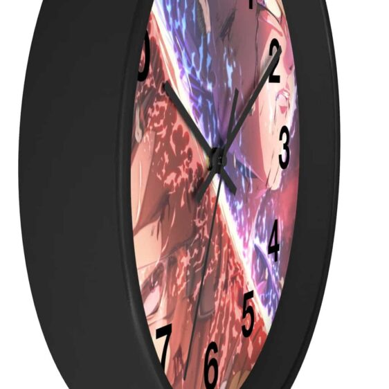 Dragon Ball Z Base Form Vegeta & Majin Vegeta Art Wall Clock