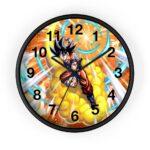 Dragon Ball Legends Goku Flying Nimbus Awesome Wall Clock