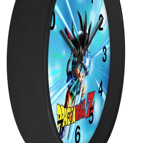 Dragon Ball Z Mad Kid Goku Flash Attack Cool Wall Clock