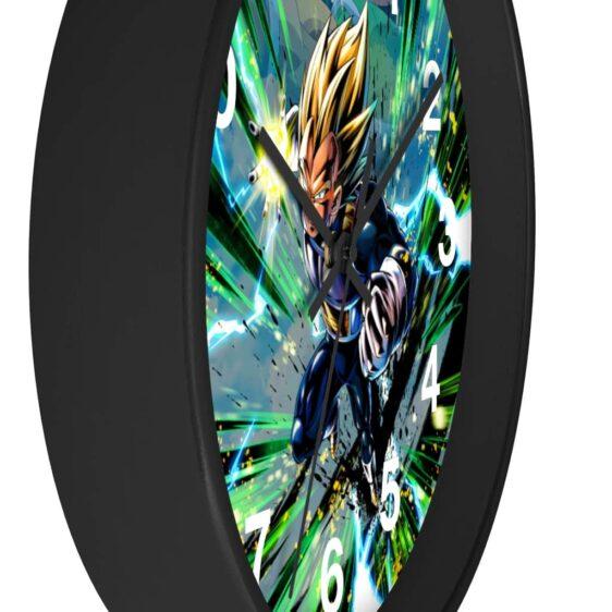 Dragon Ball Z Super Saiyan Vegeta Dokkan Art Dope Wall Clock