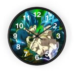 Dragon Ball Goku & Vegeta Blue Badass Pose Wall Clock