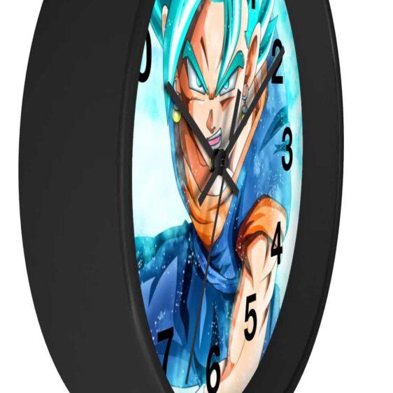 Dragon Ball Super Vegito Powerful Blue Aura Wall Clock