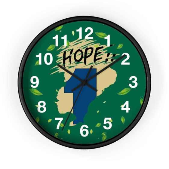 Dragon Ball Z Hope Capsule Corp Awesome Wall Clock