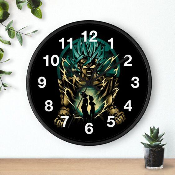 Dragon Ball Vegito Goku Vegeta Minimalist Art Dope Wall Clock
