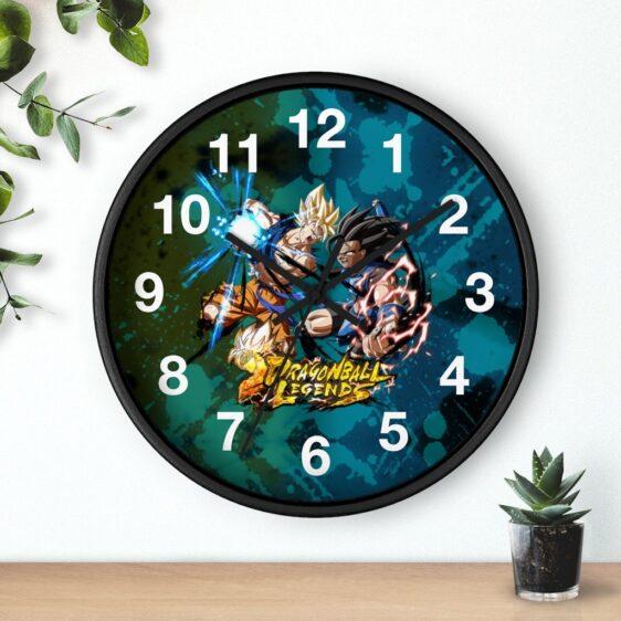 Dragon Ball Legends Goku & Shallot Battle Scene Wall Clock