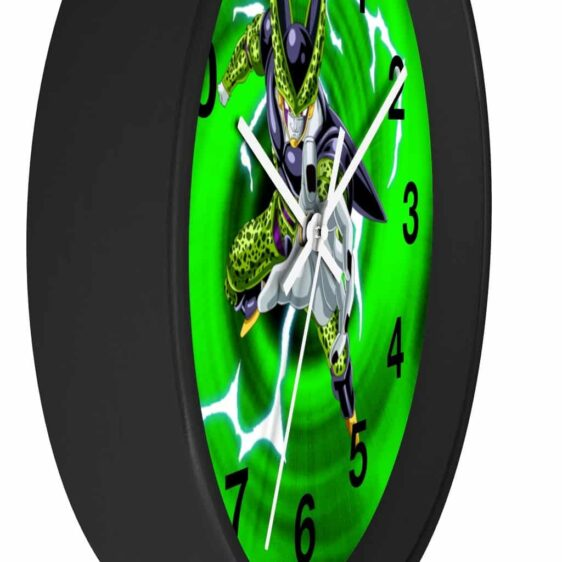 Dragon Ball Z Perfect Cell Cool Pose Impressive Wall Clock