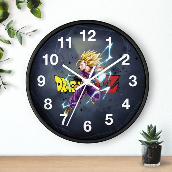 Dragon Ball Z Teen Gohan SSJ2 Kamehameha Dope Wall Clock