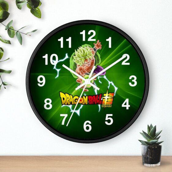 Dragon Ball Super Saiyan Mad Broly Attack Mode Dope Wall Clock