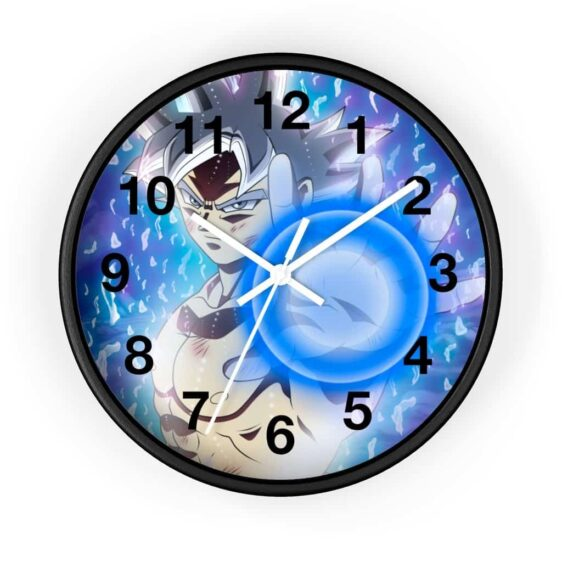 Dragon Ball Super Goku Ultra Instinct Form Flash Cool Wall Clock