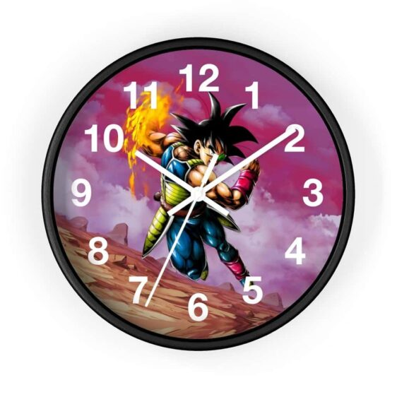 Dragon Ball Z Powerful Bardock Ki Blast Attack Wall Clock
