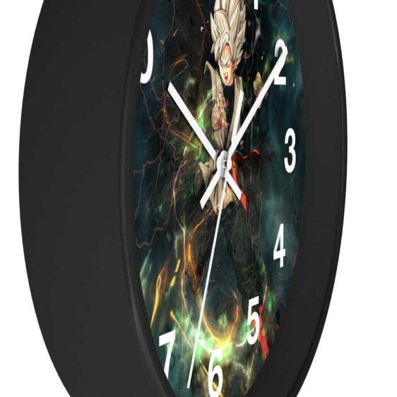 Dragon Ball Super Powerful Saiyan Goku Black Dope Wall Clock