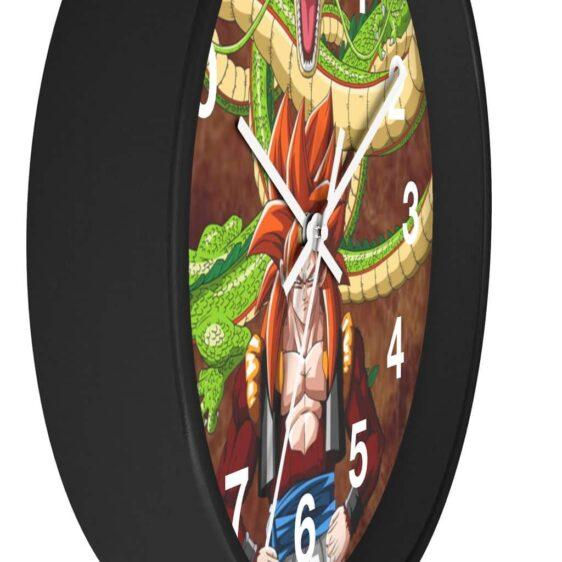 Dragon Ball GT Shenron & SSJ4 Gogeta Poster Cool Wall Clock