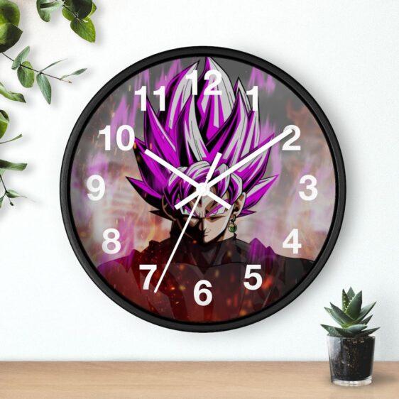 Dragon Ball Super Goku Black Badass Portrait Wall Clock
