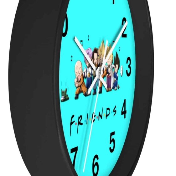 DBZ Chibi Characters Friends Inspired Adorable Wall Clock