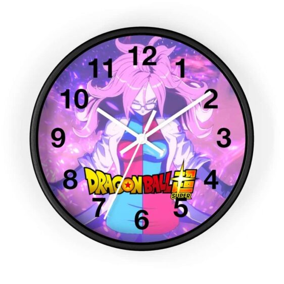 Dragon Ball Super Female Researcher Android 21 Cool Wall Clock