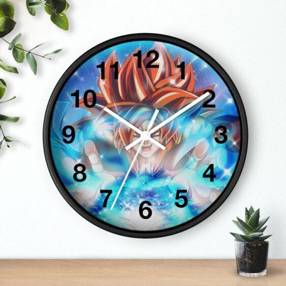 Dragon Ball Majestic Gogeta SSJ4 Energy Ball Dope Wall Clock