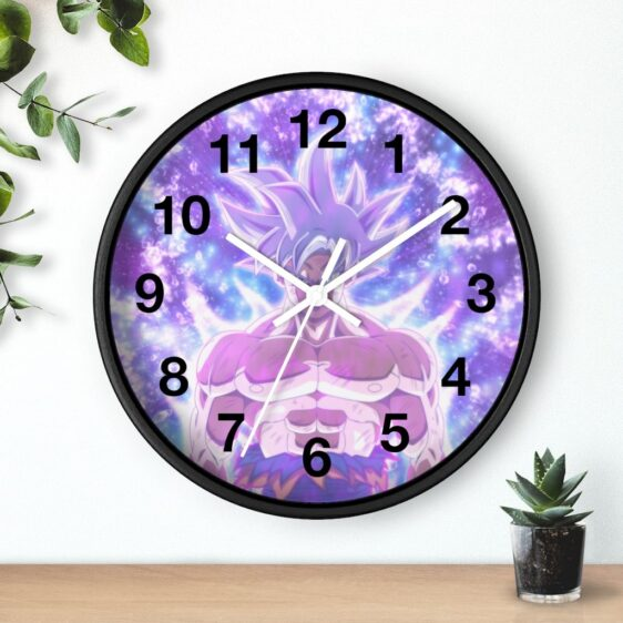 Dragon Ball Goku Ultra Instinct Majestic Form Wall Clock