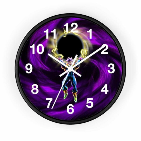 Dragon Ball GT Baby Vegeta Dark Energy Ball Badass Wall Clock
