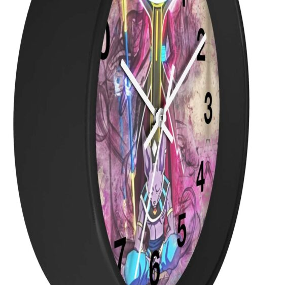 Dragon Ball Super Beerus & Whis Vintage Art Style Wall Clock